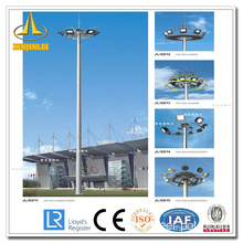 Aço Otcagonal High Mast Lighting Pole